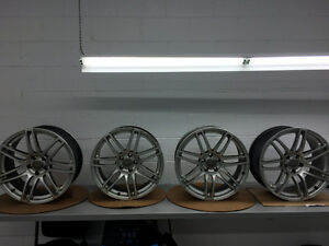 Audi Rims (will fit some VW and Mercedes too) Kingston Kingston Area image 2