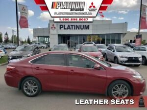 2015 Toyota Camry SE  LOW KM-Leather Seats