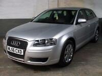 Sept 2006 '56' AUDI A3 2.0 TDI 170 SPORTBACK SE AUTO Lights/Wipers & Dimm.Mirror