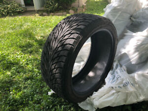 4 winter tires 19inch nokian hakkapelitta R2 used 1 winter only