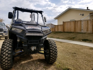 2017 rzr 900 with trailer