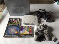 Ps one boxed & 3 games
