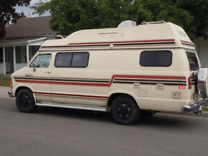 Certified and E-Tested 88 Dodge 350 Travel Aire Camper Van
