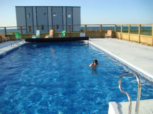 Beach front Condo 5min from Shediac 20 min from Moncton.