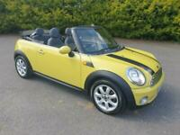 *** NOW SOLD & GONE *** MINI COOPER CONVERTIBLE 1.6