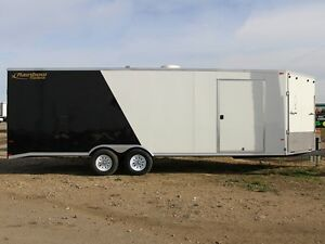 2016 Rainbow Trailers Summit Sled 8.5x24 w/2-2.5KT