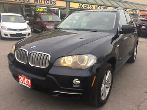 2007 BMW X5 SUV, Navigation, Heads Up display, Clean Carproof