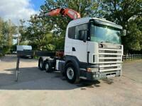 Scania P-420 124L MANUAL GEARBOX WITH CRANE