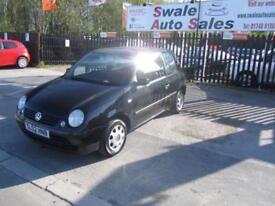 2002 VOLKSWAGEN LUPO 1.0 E / BASE 3 DOOR 50 BHP