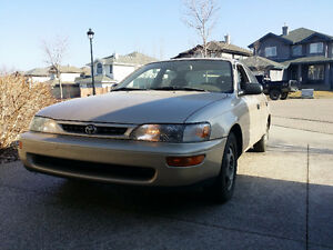 1997 Toyota Corolla SD Sedan
