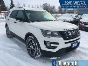 2016 Ford Explorer Sport  SUNROOF, 3 ROWS OF SEATING, 7 PASSENGE