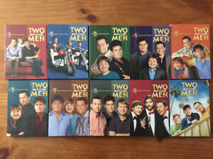 Two and a Half Men: Season 1-2-3-4-5-6-7-8-9-10 (DVD)