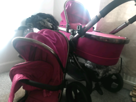 Icandy from newborn with changeable buggy attatchment