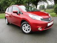 2014 64 Nissan Note 1.2 Acenta WITH WHEELCHAIR/MOBILITY SCOOTER HOIST