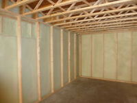 SprayFoam-Never install 1/2lbs Spray Foam Insulation in basement