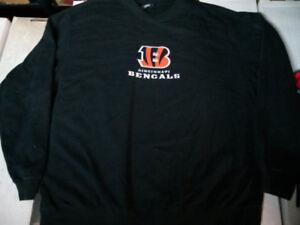NFL team apparel sweater size XXL Cincinnati Bengals $20