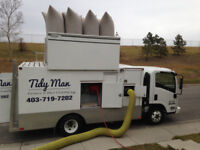 Tidy man furnace & duct cleaning/special