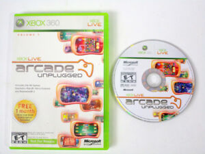 Xbox Live - Arcade Unplugged for Xbox 360