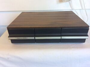 Vintage Faux Wood Realistic Cassette Tape Holder Cornwall Ontario image 1