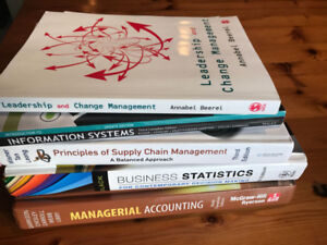 VARIOUS TEXTBOOKS - MBA or Business Studies...