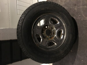 Tires and rims for GMC/ Chev truck
