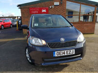 2014 Skoda Citigo 1.0 MPI ( 60ps ) SE MANUAL PETROL NEW SERVICE 2 KEYS
