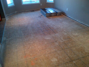 INSTALL YOUR FLOOR WITH EXPERIENCE !!!!! Kitchener / Waterloo Kitchener Area image 8