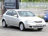 Chevrolet Lacetti 1.6 Auto SX, 2008, 60 000 Miles, 6 Months AA Warranty