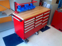 Toolbox - 13drw - Mobile cabinet w/wood top - *Amazing quality!*