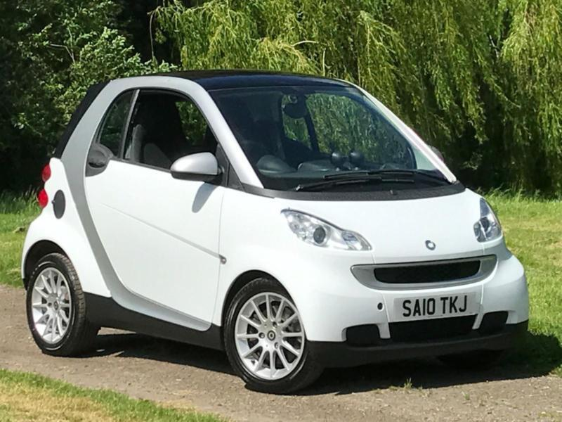2010 10 smart fortwo 0 8 cdi diesel auto passion 38k miles in enfield london gumtree. Black Bedroom Furniture Sets. Home Design Ideas