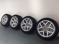 "19"" 5-Stud Alloy Wheels from BMW X5 [COMPLETE WITH NEW WINTER TYRES]"