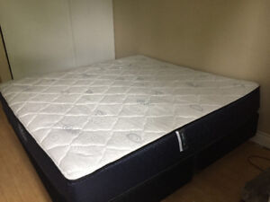 King Size Set (Mattress + Box + Frame)