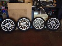 18 Inch Alloy Wheels (with tyres)