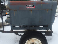Lincoln Red Face Sa 200 Welder
