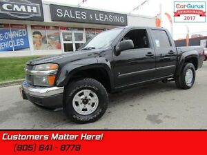 2008 Chevrolet Colorado LT  CREW, 4X4, POWER GROUP, ALLOYS!