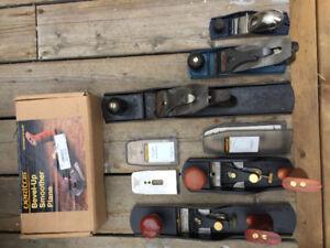 Lee Valley Veritas, Stanley and Bailey Woodworking Planes f/sale