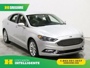2017 Ford Fusion SE Hybrid CUIR MAGS CAM RECUL
