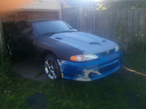 1995 Ford Mustang rolling shell