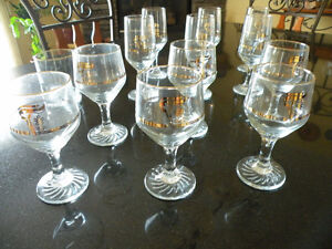 Set of 1988 Calgary Olympic Wine Glasses For Sale – Collector's