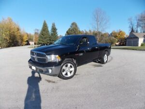 2015 Ram Eco Diesel 1500 SLT Pickup Truck With Ram Boxes