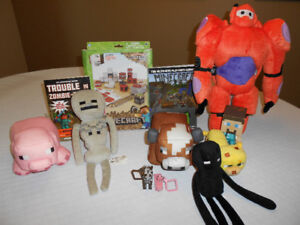Minecraft Plush Toys,Books+More  -  REDUCED