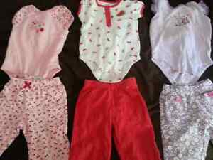 5 Carter's outfits size 9 months all for $15