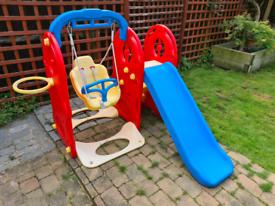 Dolu Swing and Slide set