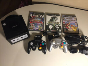 Nintendo Gamecube with Super Smash Bros Melee, Pokemon and more