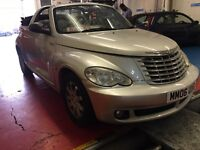 CHRYSLER PT CRUISER AUTOMATIC CONVERTIBLE 2.4 PETROL 12 MONTHS MOT 2006