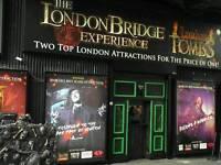 London bridge experience child ticket