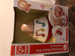 Hape Rotating Music Box (NEW)