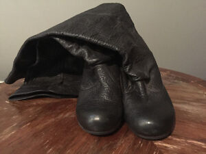 Black Chie Mihara boots Size 40