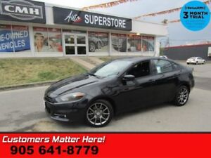 "2014 Dodge Dart SXT  RALLYE-PKG CAM 8""-TOUCH BLACK-ALLOYS"