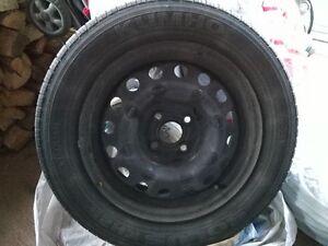 Pneus d'hiver et roues d'acier